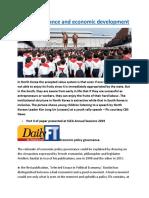 Good governance and economic development.docx