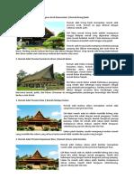 kliping rumah adat,tarian & makanan indonesia
