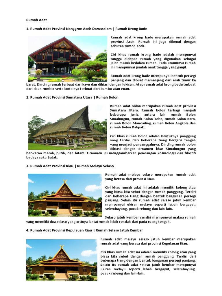Kliping Adat Tarian & Makanan Indonesia