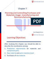 7 Planning and Controlling Purchases and Materials Usage1