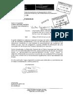 INFORMACION SOBRE SOLICITUD DE INSTALACION DE COMISARIA  PNP EN LA ZONA DE CAMPOY -S.J.L. (Ministerio Del Interior )