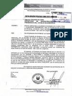 Informe relacionado a la solicitud de  mayor patrullaje y presencia policial en la zona de Zarate - San Juan de Lurigancho