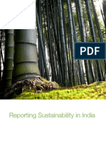Reporting Sustainability in India