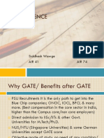 GATE Experience