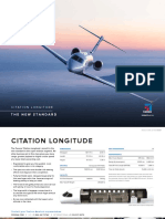 Cessna Citation Longitude Product Card