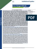 Interim Union Budget 2019-20- Budget Review-4 Feb 2019.pdf
