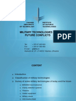 Military Technologies