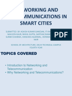 Networking and Telecommunications in Smart Cities