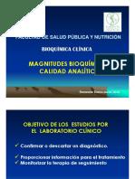 1. Magnitudes Bioquimicas