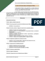 Ley 7-2007, De 12 Abril, Del Estatuto Básico Del Empleado Público.