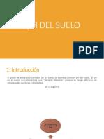 Clase 9. PH Del Suelo