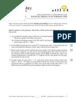 NPA Homework Sheet 1