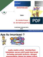 Promkes 3 PKM Tj. Batu (Imunisasi)