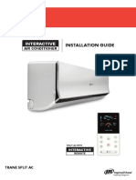 Installation Guide Trane Split AC