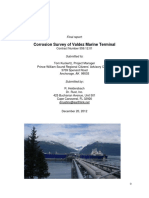 Corrosion Survey of Valdez Marine Terminal