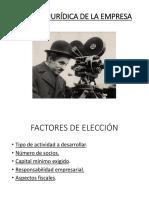 PPT. LA FORMA JURÍDICA DE LA EMPRESA + FRANQUICIA.pptx