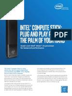 Intel Compute Stick info