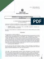 Ordinanza di Custodia Cautelare in Carcere - Sabrina Misseri