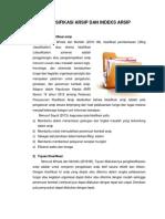 Materi 7 Klasifikasi Arsip Dan Indeks Arsip