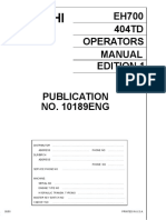 Hitachi EH700 Rigid Dump Truck operator's manual.pdf