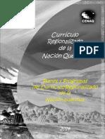 Programas de Estudio Región Quechua - Primaria