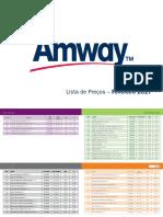 amway preços