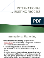 Inetrnational Marketing Process