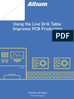 Altium - Using Live Drill Table Improves PCB Production