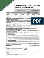 Acta de Registro Persinal
