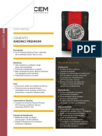 Ficha Andino Premium