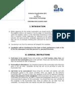 Iiitb Preparation Guide