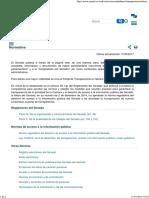 Normativa _ Ley de Transparencia Senado de España
