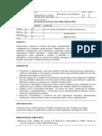 FCH059 Psicologia Social Das Organizacoes