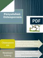 Osteoporosis Penyuluhan