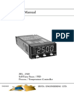 Zesta ZEL 2500 User Manual