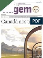 Suplemento Viagem - Estado de S.Paulo - Canadá nos trilhos 20101005