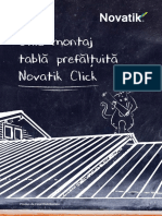 Ghid Montaj Tabla Prefaltuita Novatik Click