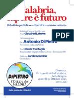 Calabria, Sapere è Futuro