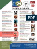 Programa de la Jornada de Conferencias Caribeñas 2019