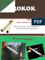 PPT Penyuluhan Rokok SAG