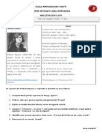 Ficha de Trabalho - Poesia