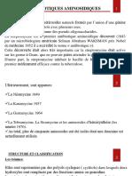 Aminosides Sulfamides-Dr Zouai 2019
