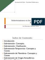 Sobretensiones en Los Sistemas Electricos.