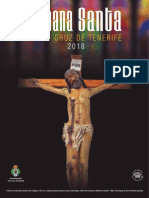 Programa Semana Santa 2018 Santa Cruz de Tenerife