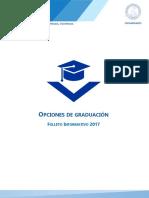 Folleto Opciones de Graduación MAEDU 2017