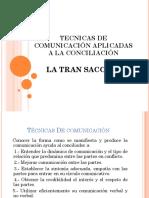 Técnicas de Comunicación Aplicadas a La Conciliación