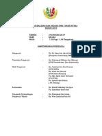 Senarai Ajk Dan Perincian Tugas 2019