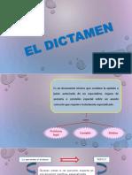 EL DICTAMEN.PPT