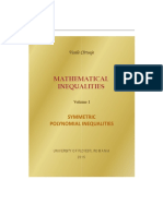[Vasile Cîrtoaje] Mathematical Inequalities Vol 1