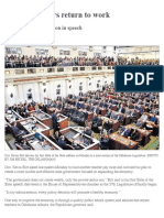 State Lawmakers Return to Work - The Oklahoman, 2:5:2019